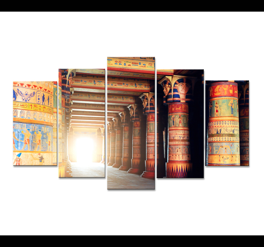 Hd Print Oil Painting Home Decoration 5 Piece Canvas Art Movie Poster Modular Picture Modern Child Room Nordic Egyptian Decor