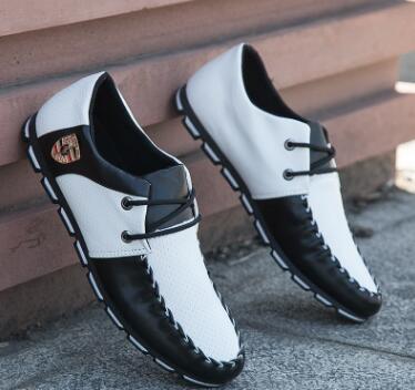 2018 as Chaussures Pois La Vague D'été Sauvage De Nouvelle Sociaux Petites Angleterre Hommes Pic Version Coréenne As Tendance Casual Pic dxshtCQrB