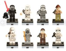 XH Single Sales Building Blocks Super Heroes Avengers Star Wars White Storm Soldier KYLO REN SNOW TROOPER Force Awakens Toys(China)