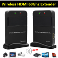 30M 98ft Wireless HDMI Extender Full HD 1080P 3D 60GHz WIHD TV Audio Video Sender Transmitter + Receiver HDCP 2.0 LPCM HD 7.1CH