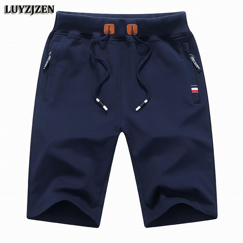 ניו אופנה גברים מכנסיים קיץ המותג מקרית מכנסיים קצרים גברים כותנה Homme אלגנטי מקרית חוף מכנסיים גברים מכנסיים קצרים איכות גבוהה 601