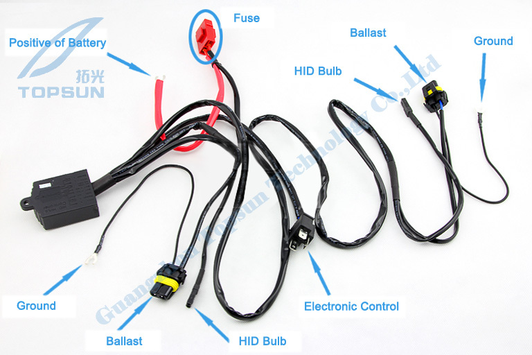 Car Light Kit 2 5 WST Projector Lens for H4 H7 socket Cover Bright COB Angel aliexpress com buy car light kit 2 5\
