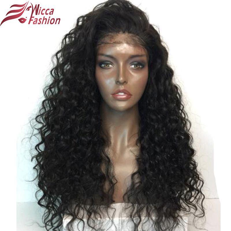 Wicca Fashion 180 Density Lace Front font b Human b font font b Hair b font