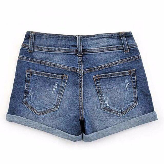 Thin Beaded High Waist Shorts 1