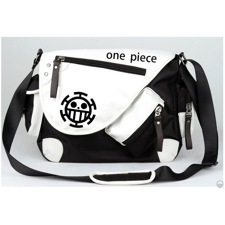 Anime One Piece Cosplay Monkey D Luffy Cos Anime Men and Women Student Messenger Bag Shoulder Bag Birthday Gift new anime one piece skull monkey d luffy backpack bag anti theft school rucksack student book bag cosplay for 14 inch laptop
