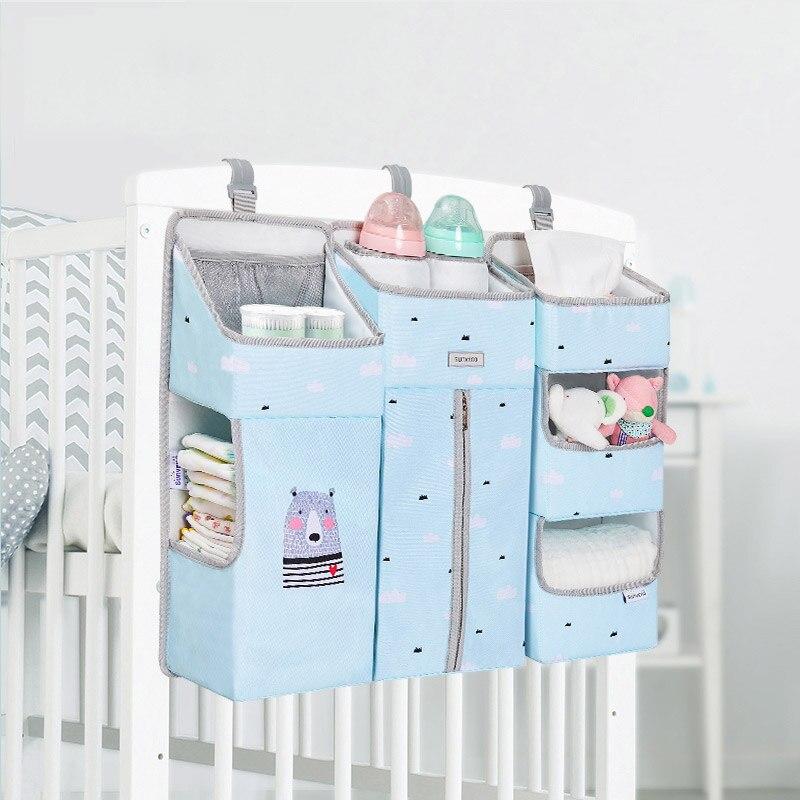 Soft Baby Crib Stroller Bed Hanging Bag Organizer Bedding Toy one