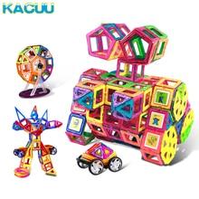 Big Size Magnetic Designer Construction Set Model & Building Toy Plastic Magnetic Blocks Educational Toys For Kids Gift цена 2017