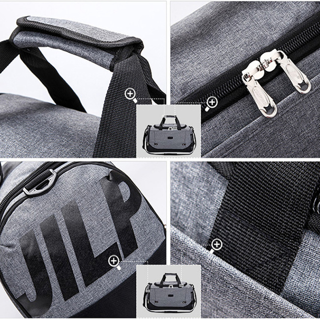 Sports Training Gym Fitness Durable Multifunction Nylon Bag