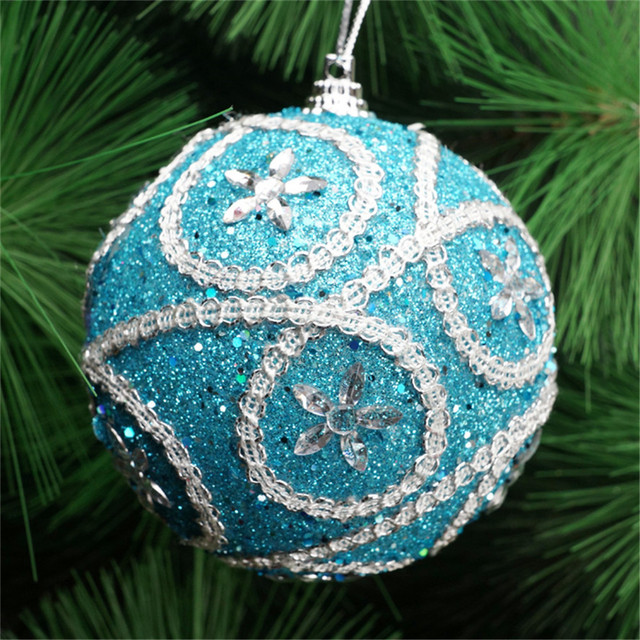 Decorative Christmas tree ball ornament (1pc)
