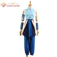 Avatar The Legend of Korra Korra Cosplay Costume Halloween Party For FeMale