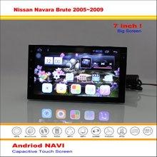 Автомобиль Android GPS NAVI Навигационная Система Для Nissan Navara D40 Грубой 2005 ~ 2009-Радио Стерео Видео Мультимедиа (нет Dvd-плеер)