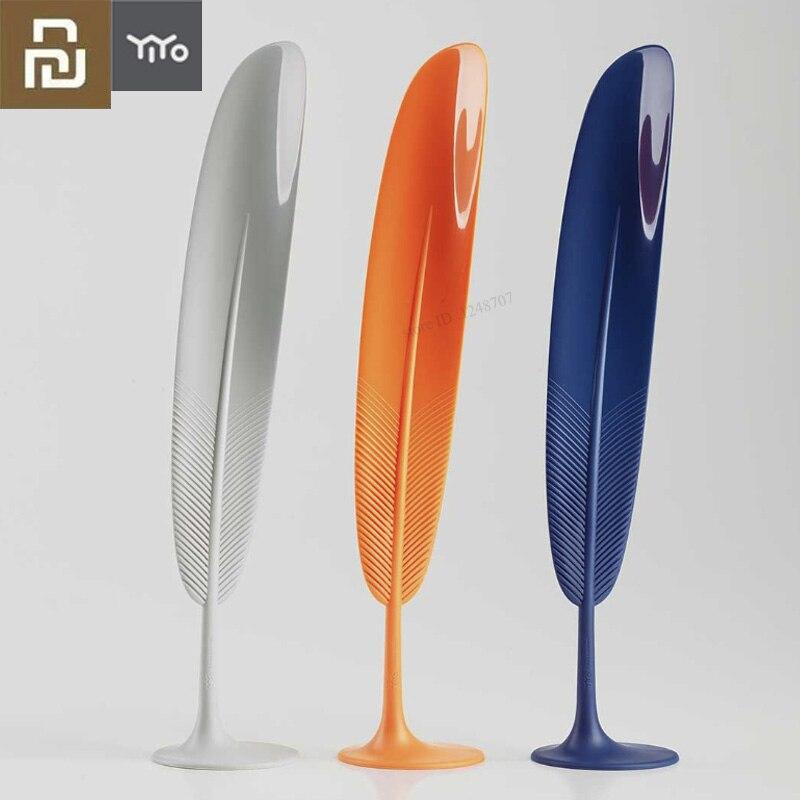 Xiaomi Mijia YIYOHOME Sapato Levantador Calçadeira Sapato Horn Colher Forma Pena Profissional Flexível Resistente Deslizamento Novo Design Exótico