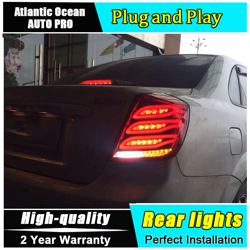 JGRT Car Styling for Chevrolet Lacetti Taillights 2008-2014 New Lacetti LED Tail Lamp Rear Lamp Fog Light For 1Pair ,4PCS free shipping for car rear lamp for lexus for is 250 for is350 led taillights year 2006 2014