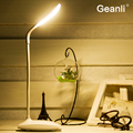 High quality Adjustable USB Rechargeable Touch Sensor LED Reading Light Desk Table Switch Dimmable Student  Lamp hot selling