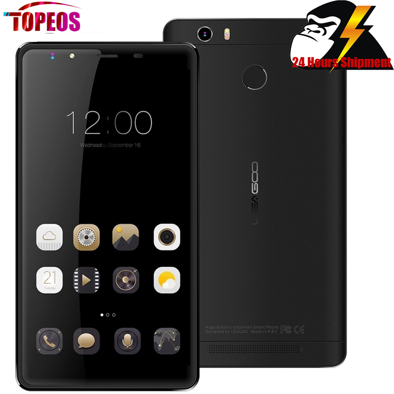 6 Leagoo Shark 1 6300mAh Battery Smartphone Android 5 1 MTK6753 Octa Core 3GB RAM 16GB