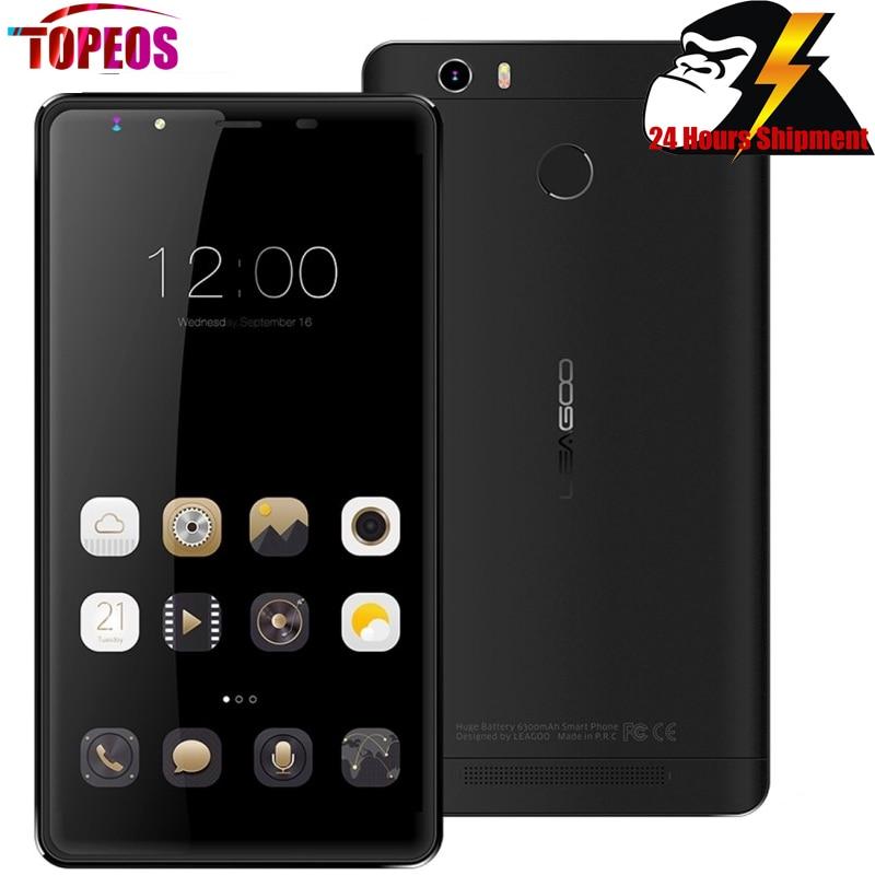 6 ''leagoo shark 1 6300 mah batería smartphone android 5.1 octa mtk6753 Core 3 G