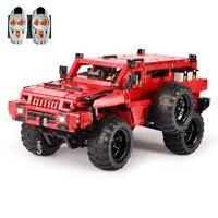 Техника MOC дистанционного управления 23007 красный внедорожник Мародер набор детей модель строительные блоки кирпичи комплекты 4731 игрушки