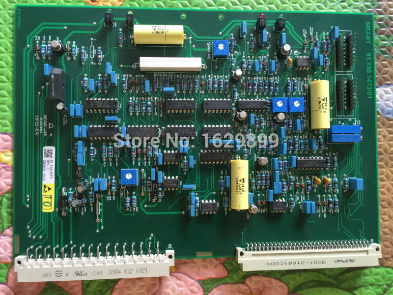 1 piece new heidelberg SRJ board SRJ HDM 91.198.1473 1 pcs high quality heidelberg parts new board ltk50 91 144 8021 01a water reel drive circuit board ltk 50 91 144 8021