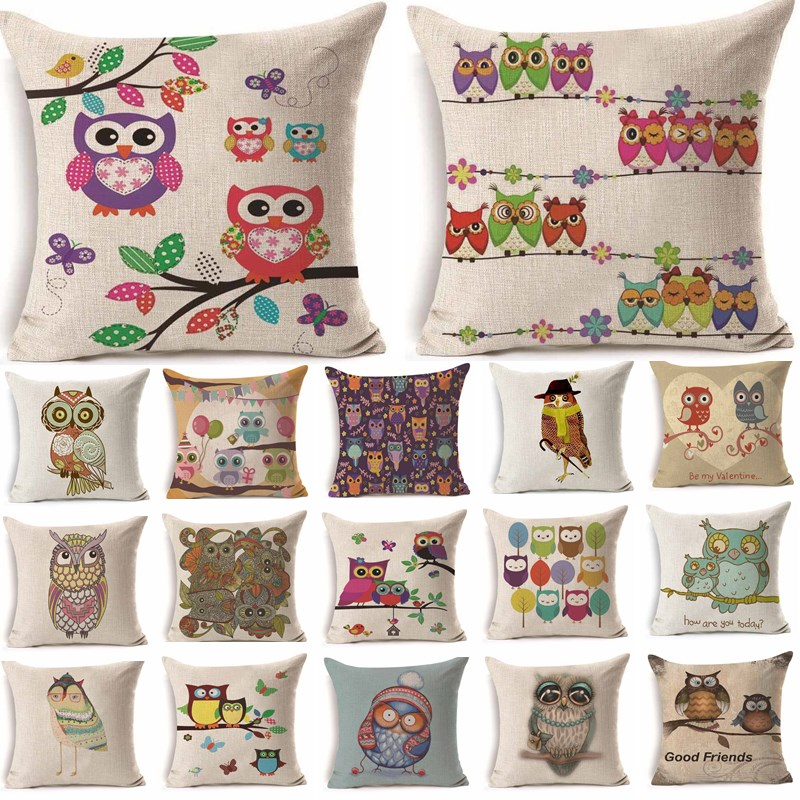 New 18IN Music Notes Stave Melody Theme Linen Cushion Cover Throw Pillow Case