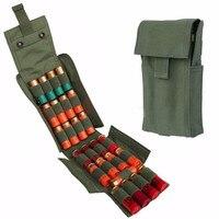 2016熱い販売狩猟弾薬ポーチmolle pals 25ラウンド12ゲージ殻散弾銃リロードマガジンポーチ用ベストミリタリーホルダ