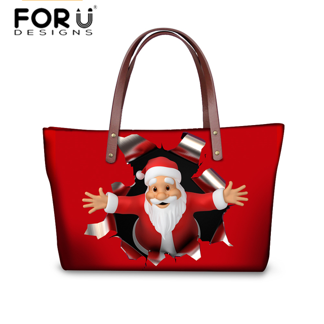 Aliexpress.com : Buy FORUDESIGNS Women Handbags 2018 Christmas ...