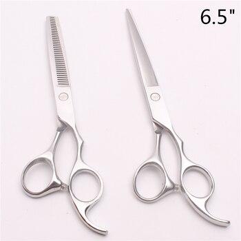 """C1006 6,5 """"18,5 cm tijeras de corte de logotipo personalizadas tijeras de peluquería herramienta de estilismo profesional"""