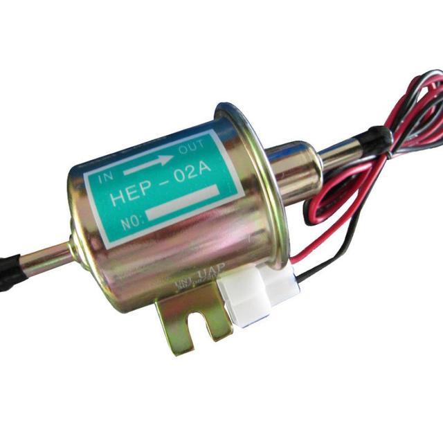 New Gas Diesel Inline Low Pressure Electric Fuel Pump 24V jy15