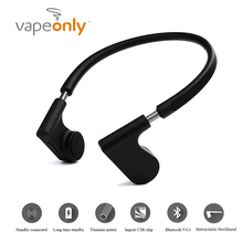 ET Bone Conduction Sports Bluetooth Earphone Wireless Headset Cell Phone Stereo Waterproof With Mic