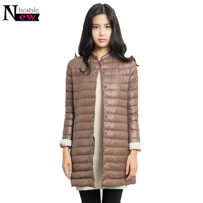 2018 Wadded Winter Jacket Women Long Jacket Fur Slim Cotton Padded Coat Outwear Warm Chaquetas Parka Feminina High Quality Gift