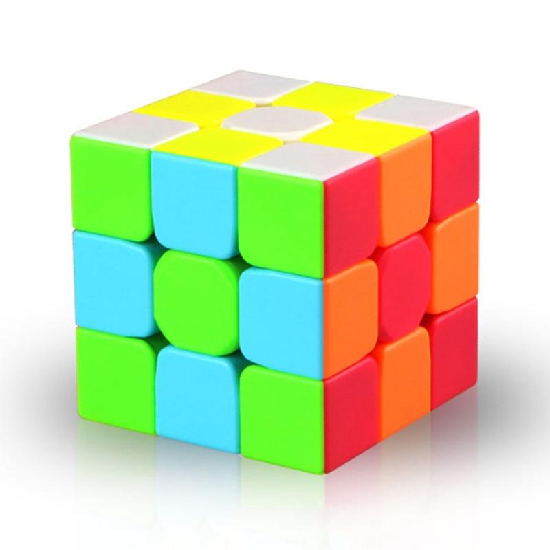 Vivid color Professional Rubiks Cube 3x3x3 5.7CM Speed Magic Cube Puzzle Fidget Cube Magico Sticker for Children Education Toy