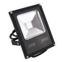 LED PIR Floodlights Motion Sensor Flood Light 10W 20W Induction Sense Reflector Lights IP65 85 265V
