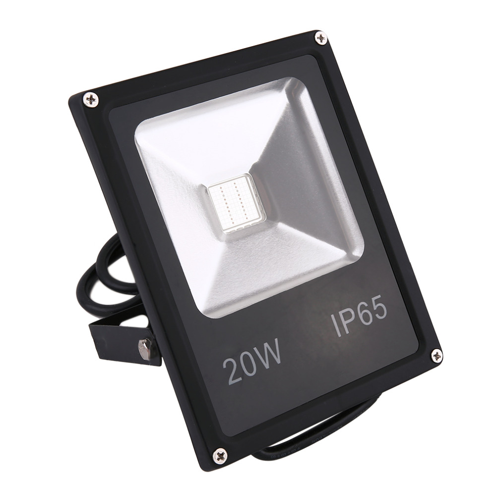 LED PIR Floodlights Motion Sensor Flood light 10W/20W Induction Sense Reflector Lights IP65 85-265V Garden Outdoor Spotlight