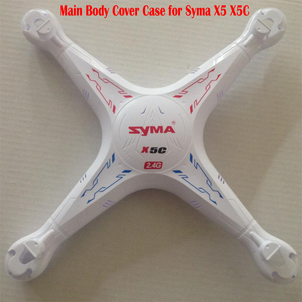Syma X5 X5C Main Body Shell Cover Case Replacement RC Quadcopter Drones Spare Parts Accessories wholesale syma x5sw rc quadcopter drone spare parts main body shell cover 5pcs
