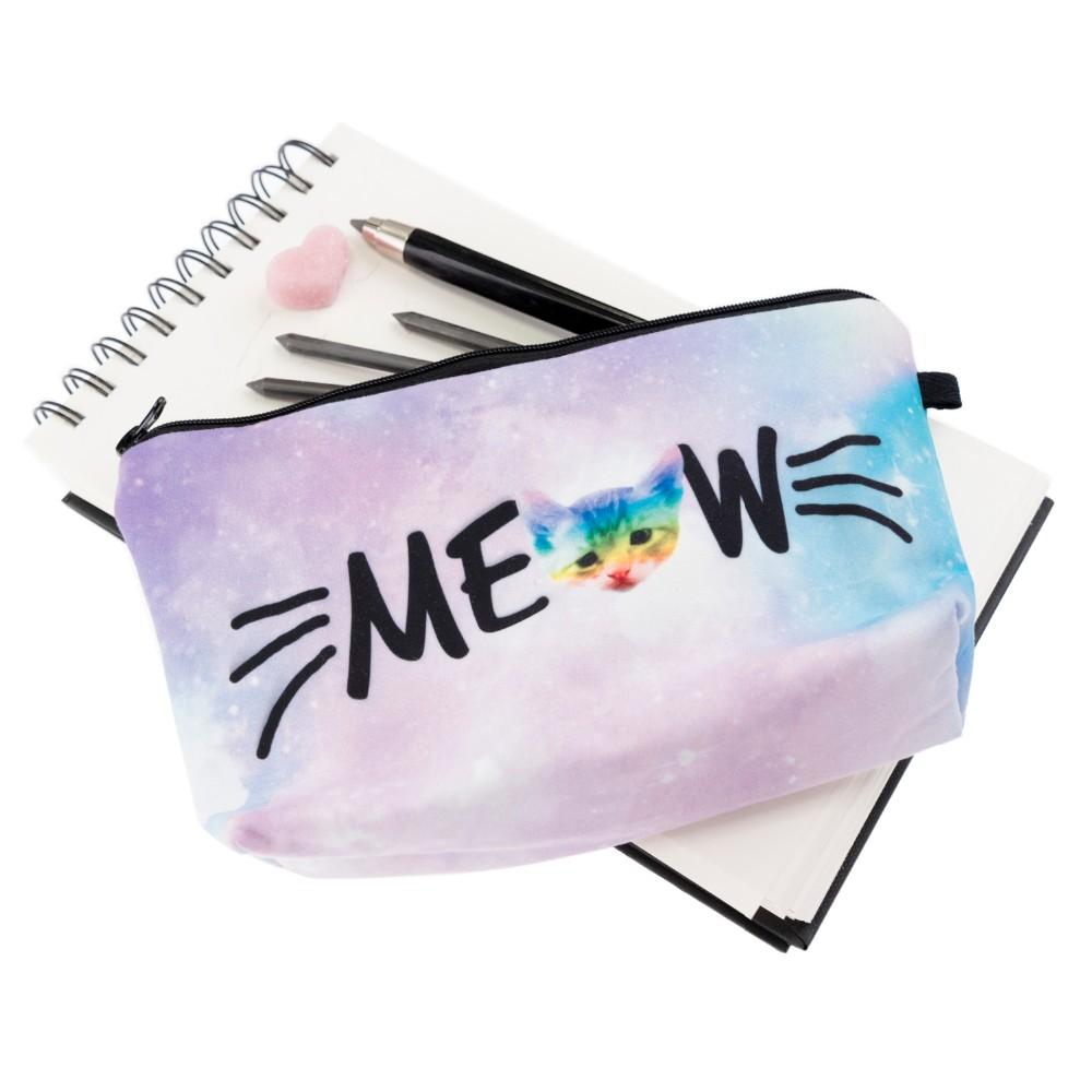 3D Print Meow Cosmetic Makeup Bag