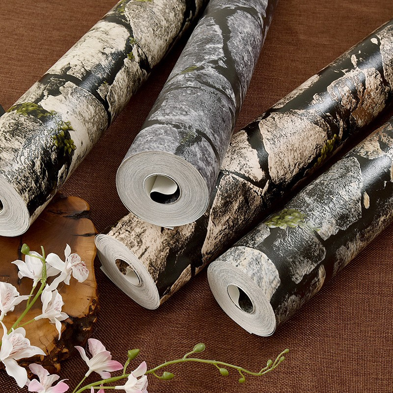 Beibehang 3D Brick WallPaper Modern Vintage Brick Stone Paper Wallpaper Roll For living room Background wall 3D brick wallpaper non woven bubble butterfly wallpaper design modern pastoral flock 3d circle wall paper for living room background walls 10m roll