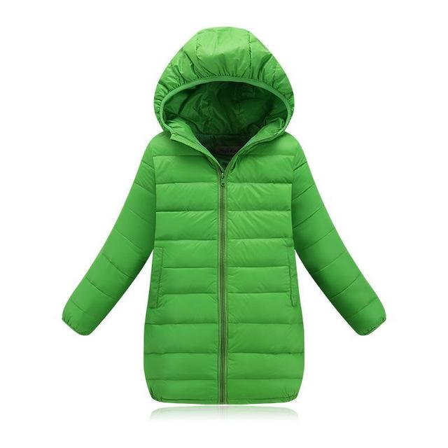 2016 Fashion Childrens down jackets coats Cotton-padded girls Spring / autumn / winter coat jacket children outerwear 110-150
