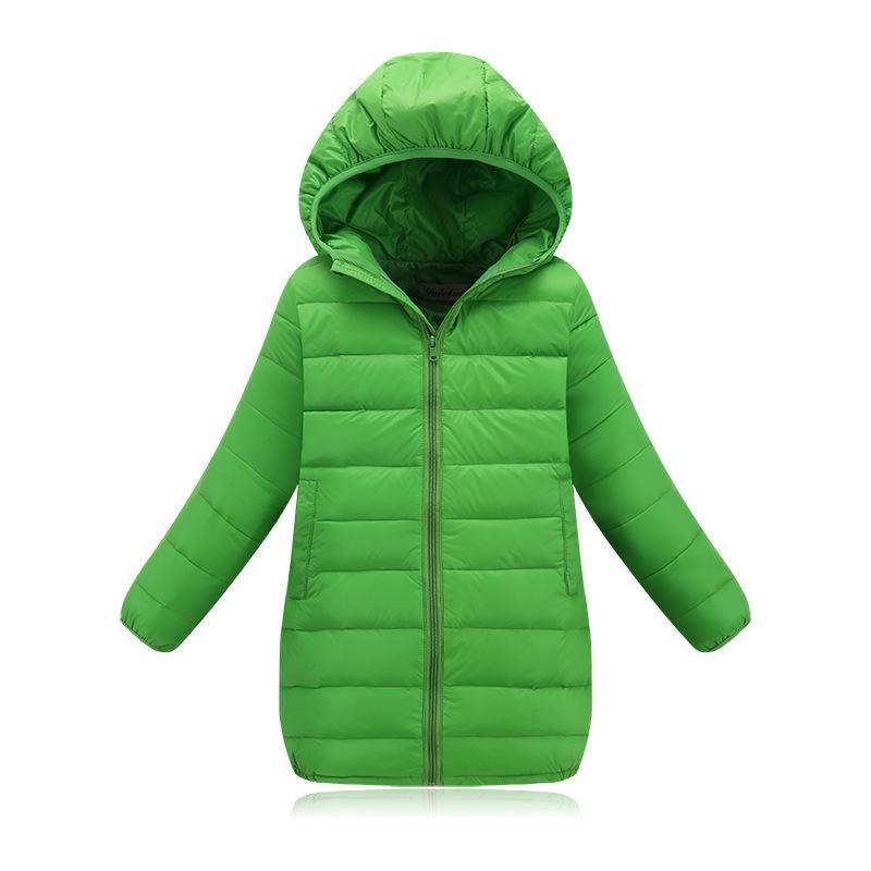 2017 Fashion Childrens down jackets coats Cotton-padded girls autumn / winter coat jacket children outerwear WindProof Coat girls down coats girl winter collar hooded outerwear coat children down jackets childrens thickening jacket cold winter 3 13y