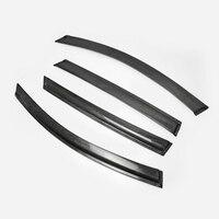Автомобильные аксессуары для KIA 2016 года K5 Optima JF карбоновое волокно оконный козырек 4 шт. глянцевое волокно Ветер Дефлектор гоночный Корпус К