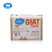 The Skincare Premium Hand Made Goat Soap Moisturizers With Oatmeal Soft Healthy Skin Relief From Eczema