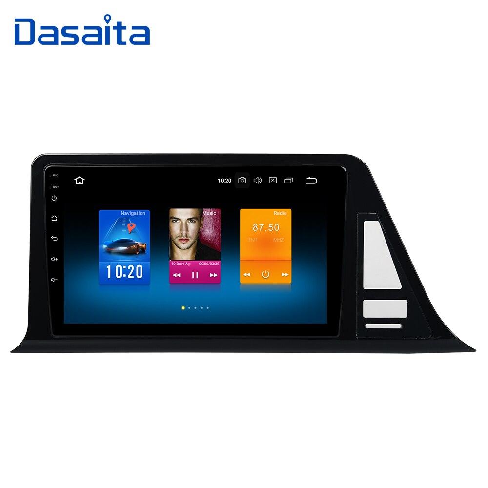Dasaita Android 9 0 1Din Car Multimedia Player for Toyota C HR CHR C HR GPS