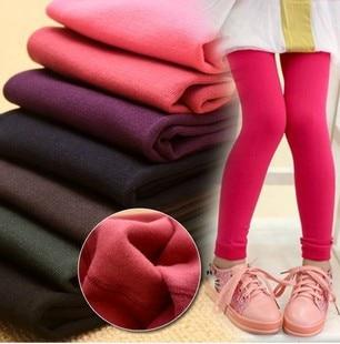 Pantalon bébé automne hiver fille chaud pantalon elastique fille legging enfant chaud pantalon enfant