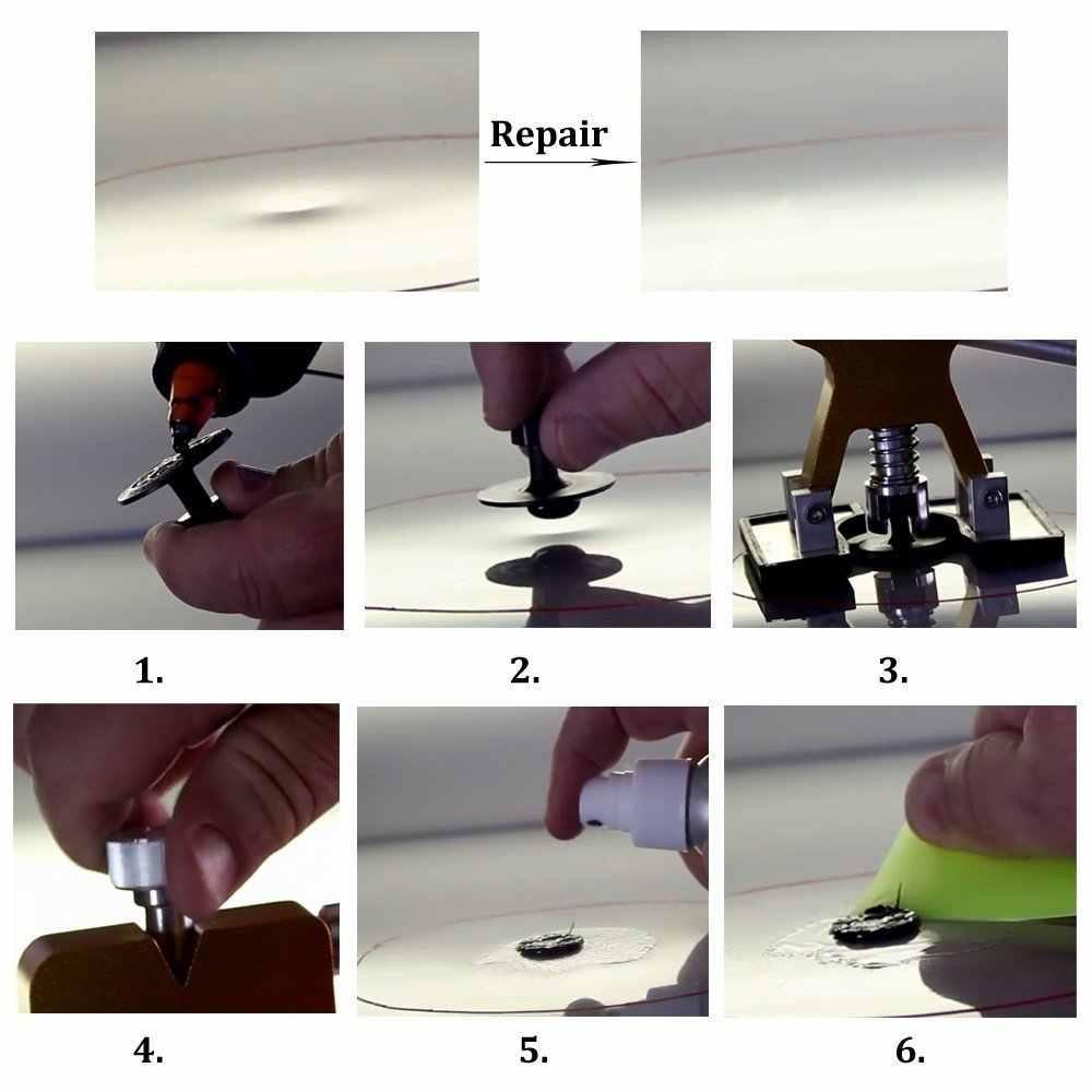 Ferramentas de reparação Paintless Dent Extrator Lifter Ferramenta de Reparo do Corpo Do carro de slides martelo 28 Guias para Dent Removedor remoção do corpo do carro ferramenta
