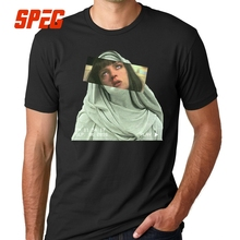 T Shirts PULP addiction Pulp Fiction Quentin Movie Mia Wallace Funny T-Shirts Man Round Neck Short Sleeve Clothing Classic