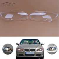 WISENGEAR 1 Para Reflektor Reflektor Osłona obiektywu Cap Dla BMW Serii 3 E93 E92 Coupe Cabrio 328i 335i M3 2 Drzwi 2006-2010