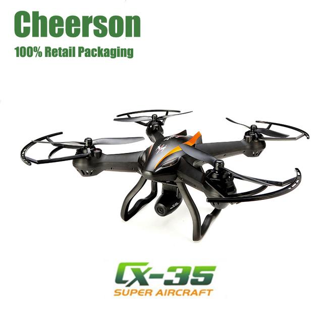Cheerson cx-35 cx35 zangão 5.8g fpv com a câmera de 2mp hd ratatable altura modo hold rc quadcopter proteção de baixa tensão helicóptero