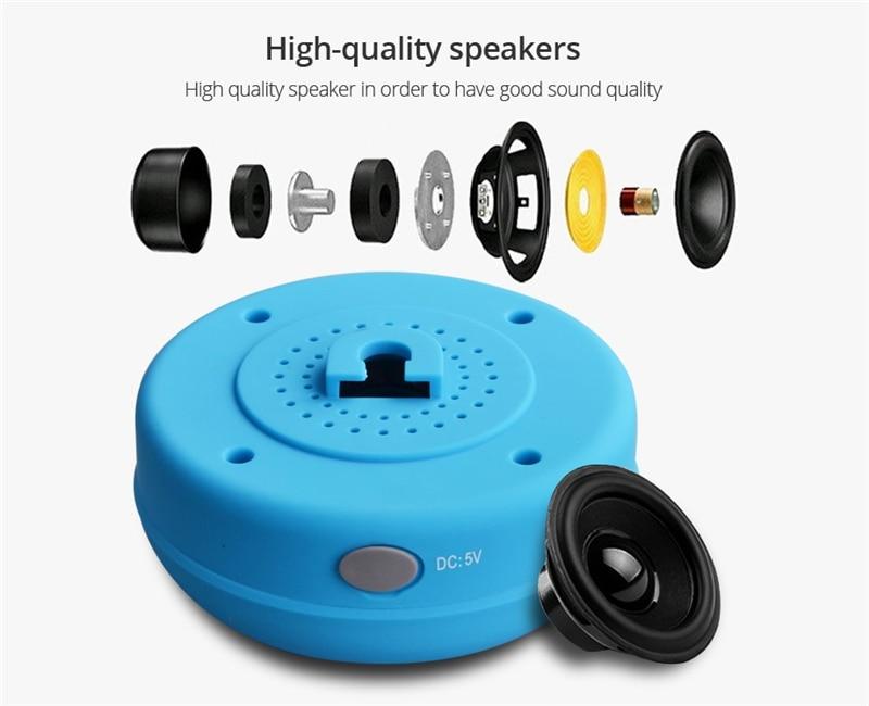 Mini altavoz portátil Bluetooth impermeable manos libres ...