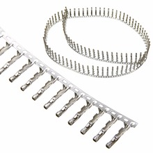 100pcs/sets Pitch 2.54mm 1 Pin Single Row Dupont Jumper Wire Cable Female Pin Connector Terminal for Dupont Jumper Wire Cable