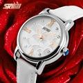 Relojes Mujer 2016 Quartz Watch Women Watches Relogio Feminino Women's Leather Dress Fashion Brand SKMEI Waterproof Wristwatches