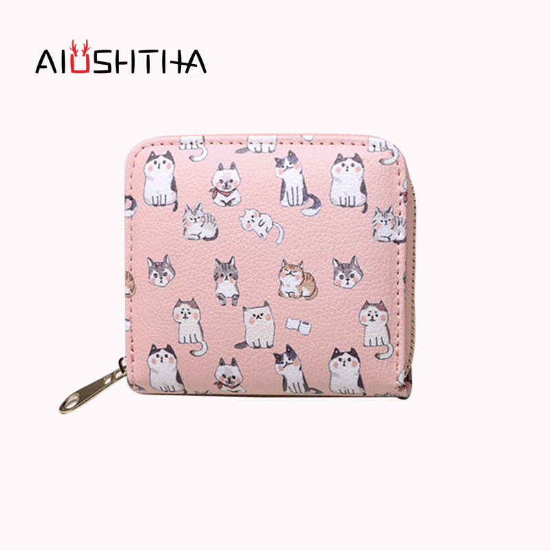 dog women wallets and purses for girls kawaii children small short coin purse card holder female mini cartoon character animal women wallets short purses for girls coin purse card holder money bags candy colors high quality fashion brand small mini red