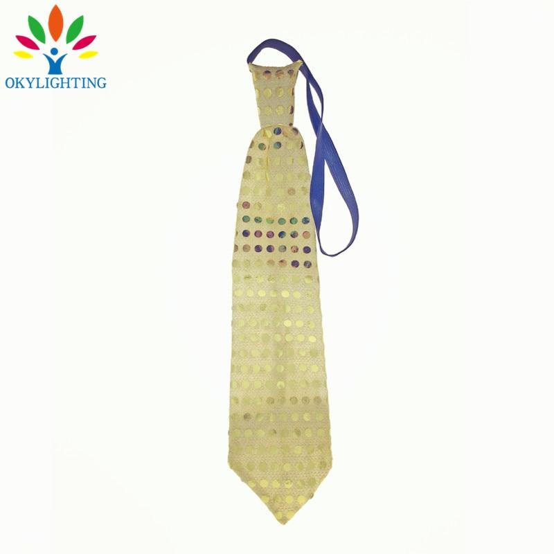5pcs / lot vodio svjetleći vrat kravata Mixcolor treperi muško / - Za blagdane i zabave - Foto 4